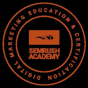 semrush certificate
