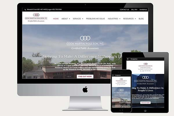 Cook Martin Website