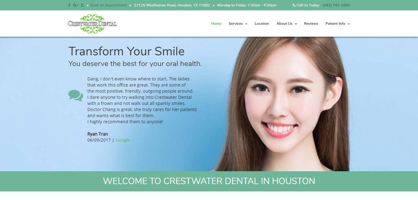 Crest Water Dental