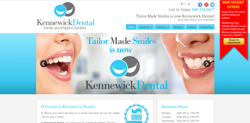 Kennewick Dental Website